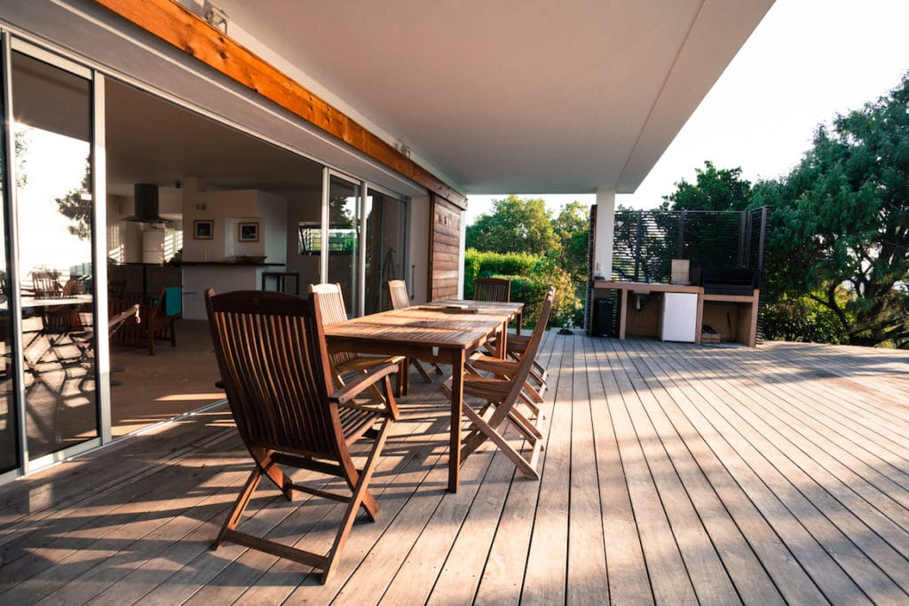 4 Myths About Wood Decks - Splinters image